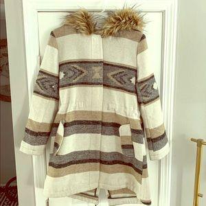 BB Dakota boho style winter coat